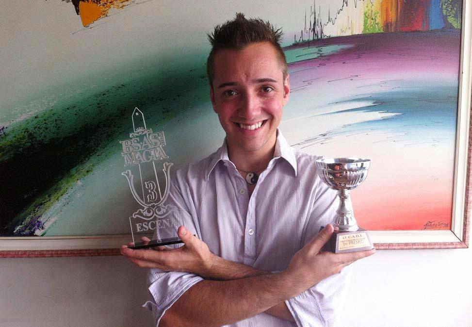 Premiação de Gustavo Vierini.