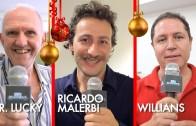 Ricardo Malerbi, Willians (Magi) e Mr. Luck em A mágica em 2015