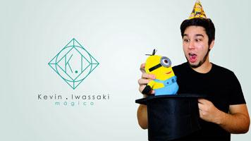 Kevin Iwassaki, o mágico para crianças.