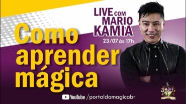 Entrevista: A história do ilusionista Mario Kamia